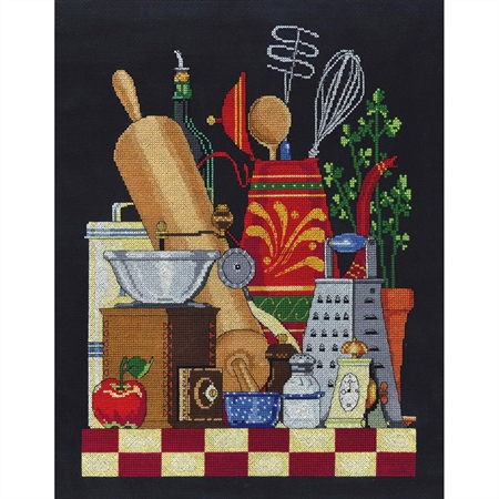 Kitchen Still Life Counted Cross Stitch Kit