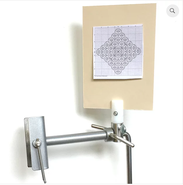 Magnetic Board Holder For Silver Grey Stand