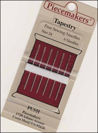 Piecemakers Size 22 Tapestry Needles