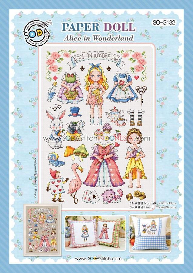 Paper Doll : Alice In Wonderland