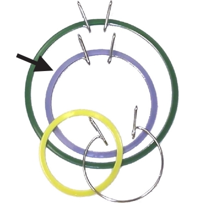Spring-Tension Hoops 5""
