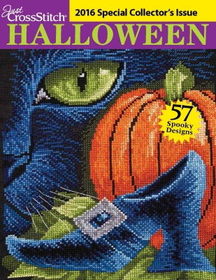 Just Cross-Stitch Halloween Special Collector's Issue 2016