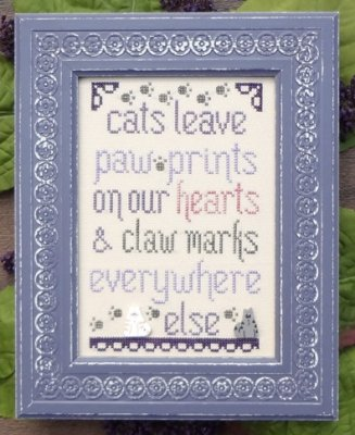 Cats Leave Paw Prints - The Snarky Version