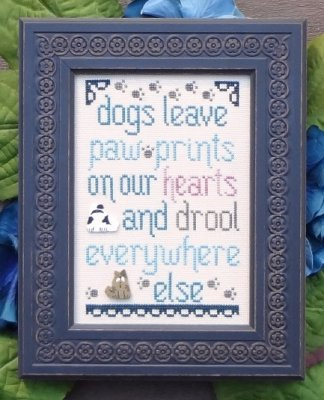 Dogs Leave Paw Prints - The Snarky Version