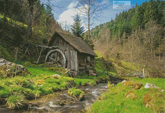 Old Mill, Black Forest, Germany