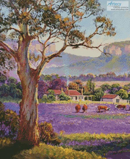 The Purple Paddock (Crop)
