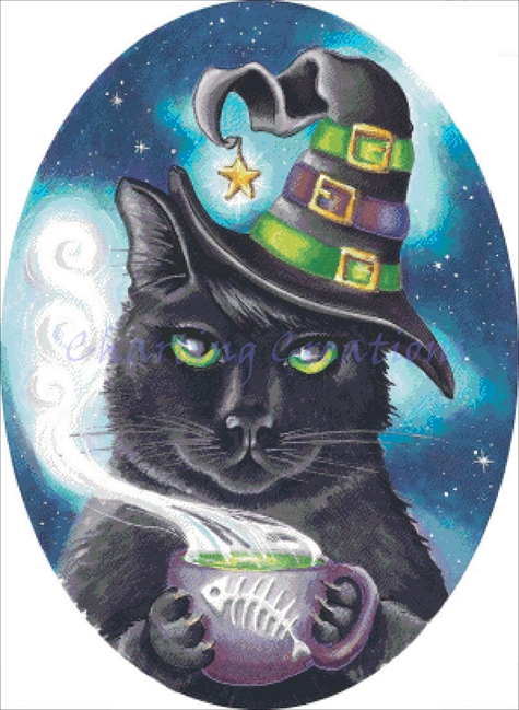Georgette The Witch Cat Kit