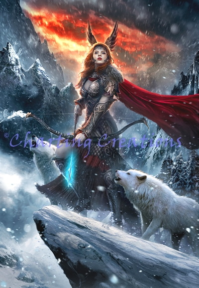 Skadi, Goddess Of The North Large