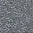 00150 Grey Glass Seed Beads