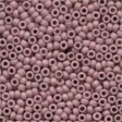03020 Dusty Mauve Antique Glass Beads