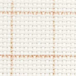 DMC Magic Guide fabric - 14 count White