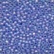 60168 Sapphire Frosted Seed Beads