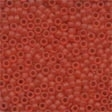 62013 Red Red Frosted Seed Beads