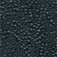 62014 Black Frosted Seed Beads