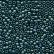 62021 Gunmetal Frosted Seed Beads