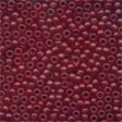 62032 Cranberry Frosted Seed Beads