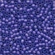 62034 Blue Violet Frosted Seed Beads