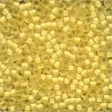62041 Buttercup Frosted Seed Beads