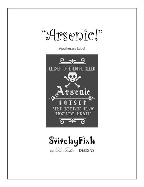 Arsenic Apothecary Label