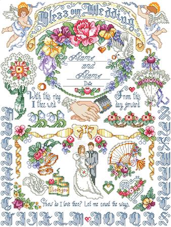 Our Wedding Sampler