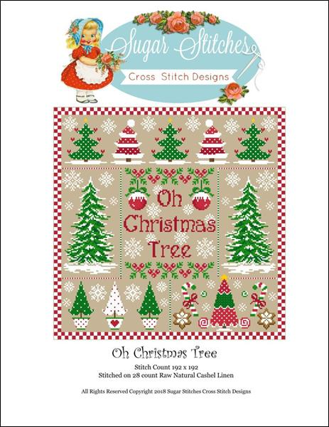 Oh Christmas Tree Sampler
