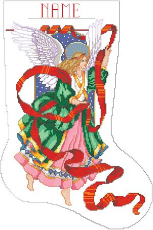 Celestial Angel Stocking