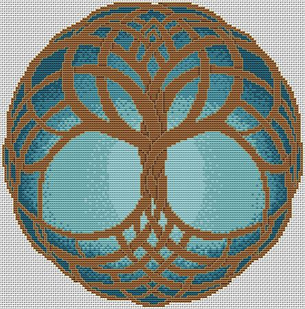 Celtic Tree of Life - Winter