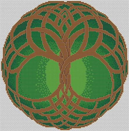 Celtic Tree of Life - Spring