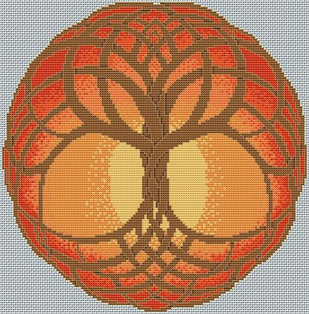 Celtic Tree of Life - Autumn