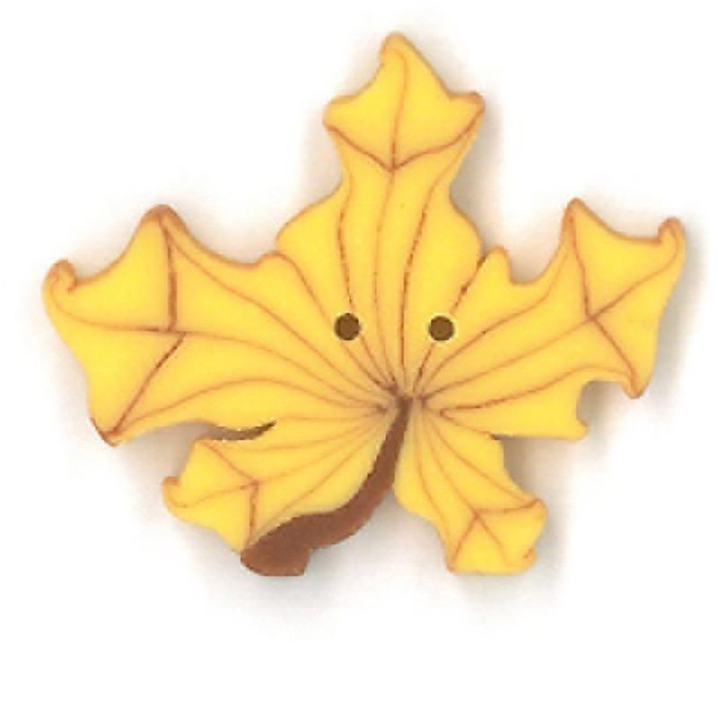 Yellow Maple Leaf - Large