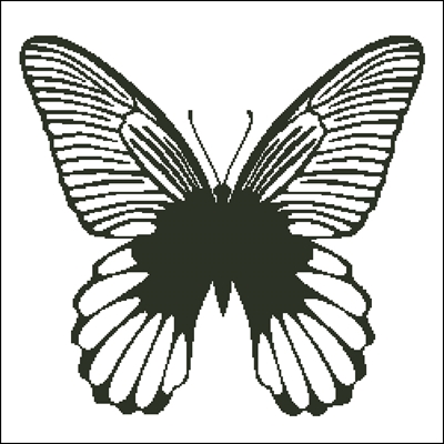 Butterfly Silhouette 1