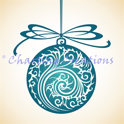 Christmas Ornament Silhouette