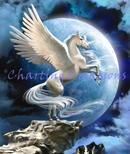 Pegasus In The Moonlight