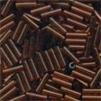 72023 Root Beer Small Bugle Beads