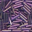 82051 Royal Mauve Medium Bugle Beads