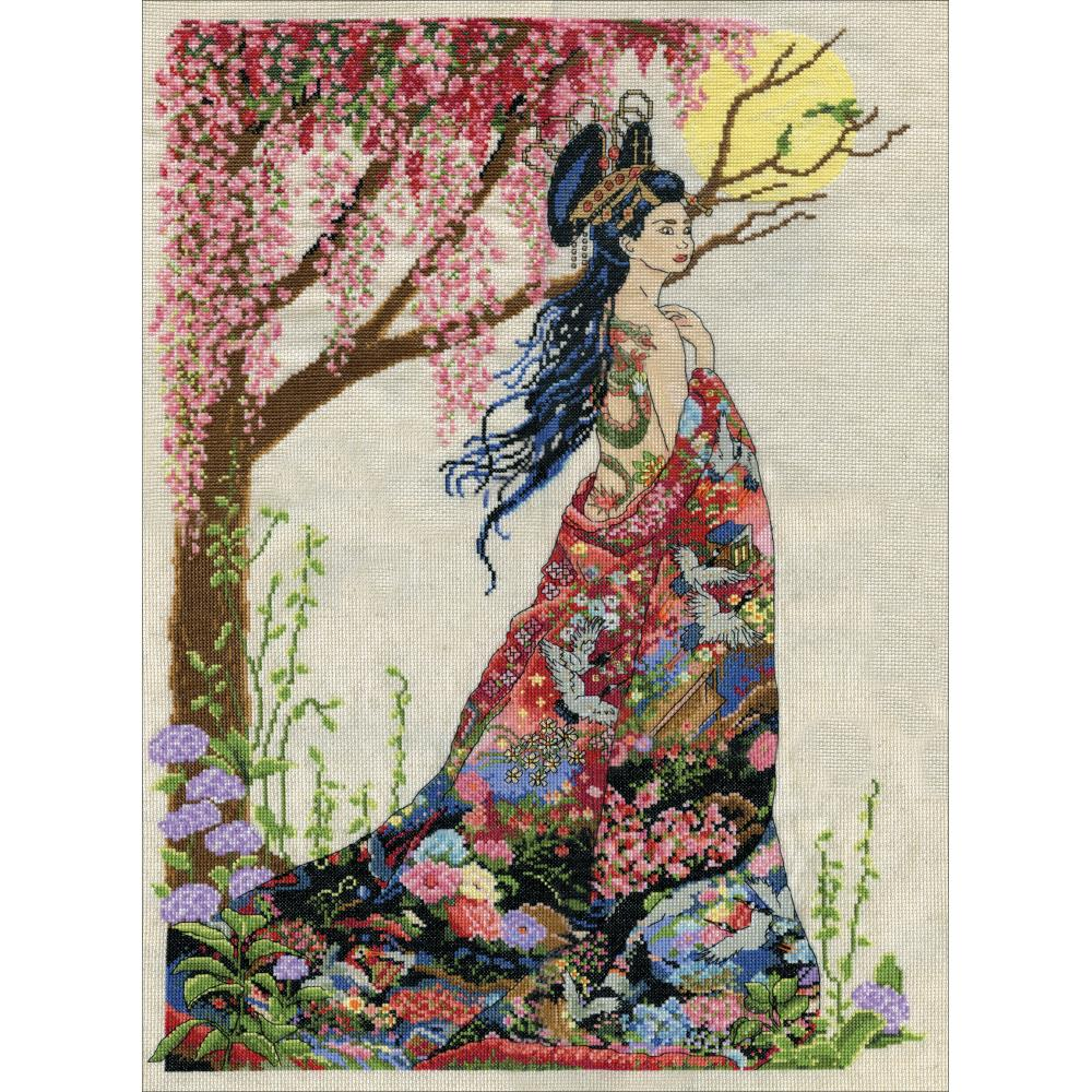 Queen Of Silk Counted Cross Stitch Kit