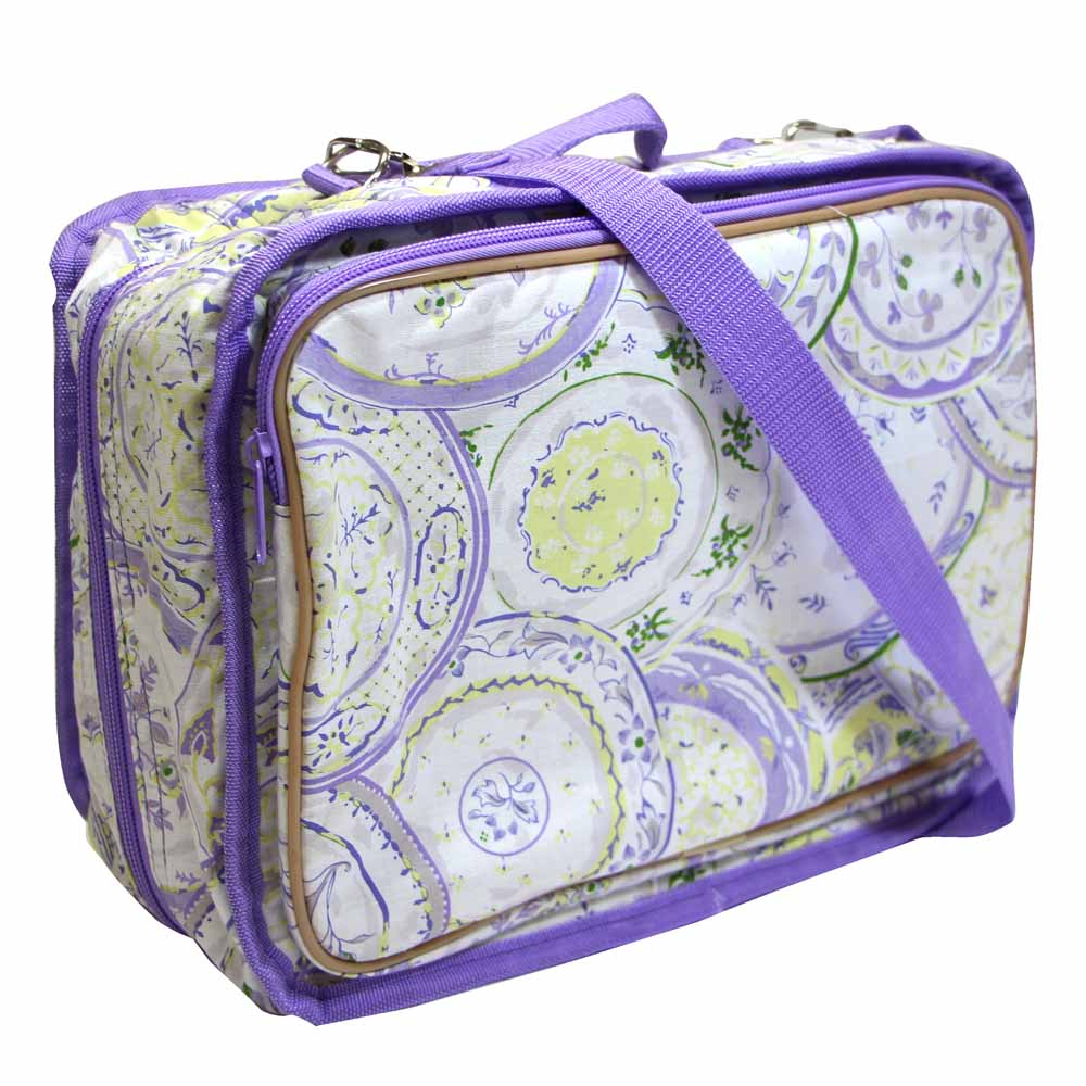 Violet Plate Tote