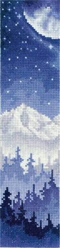 Bookmark - Moon Over The Forest