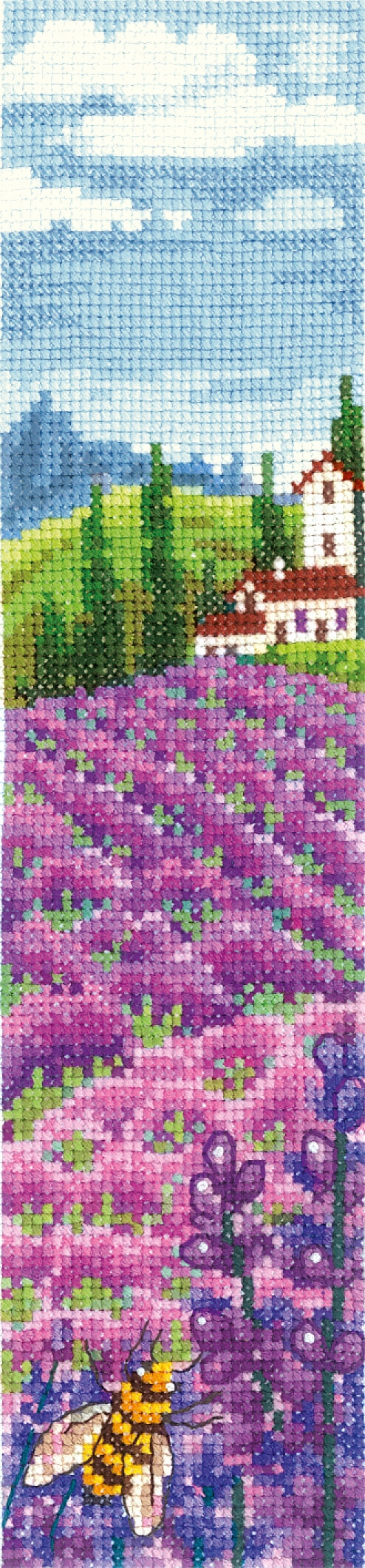 Bookmark - Lavender Fields
