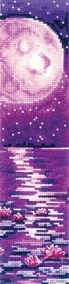 Bookmark - Lilac Moon