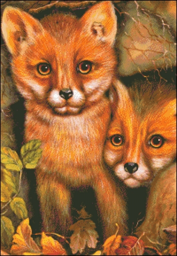 Snippet Fox Cubs
