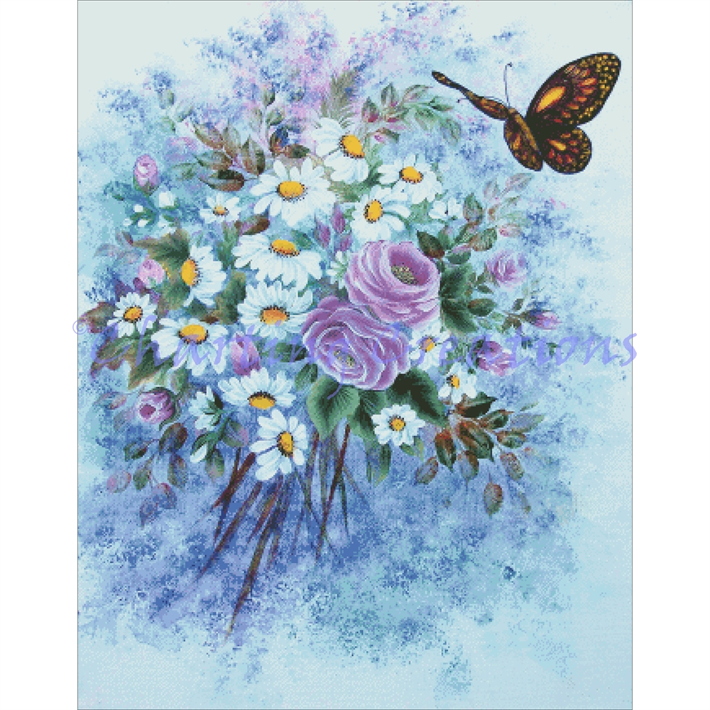 Butterfly Bouquet - Click Image to Close