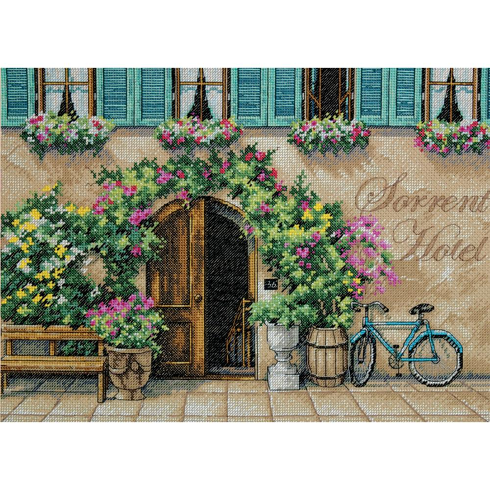 Sorrento Hotel Counted Cross Stitch Kit