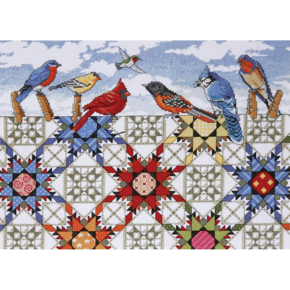 Feathered Stars Counted Cross Stitch Kit