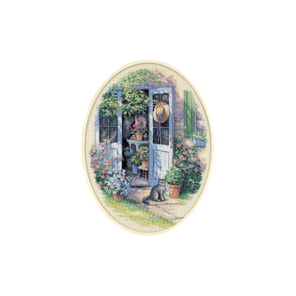 Garden Door Counted Cross Stitch Kit