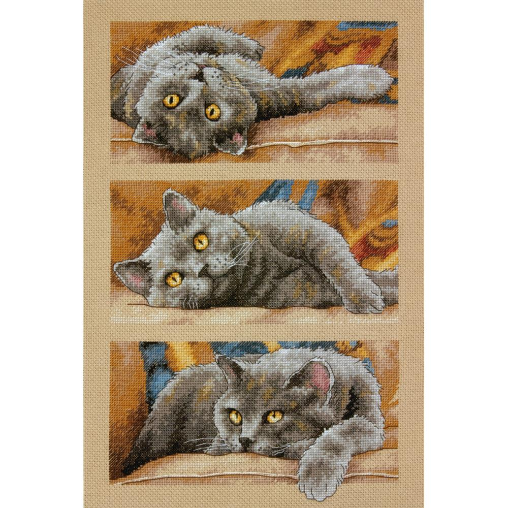 Max The Cat Counted Cross Stitch Kit