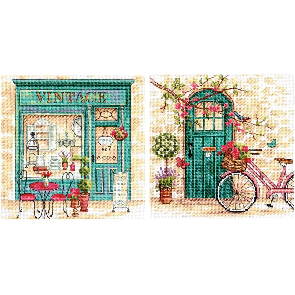 Afternoon In Provence Counted Cross Stitch Kit