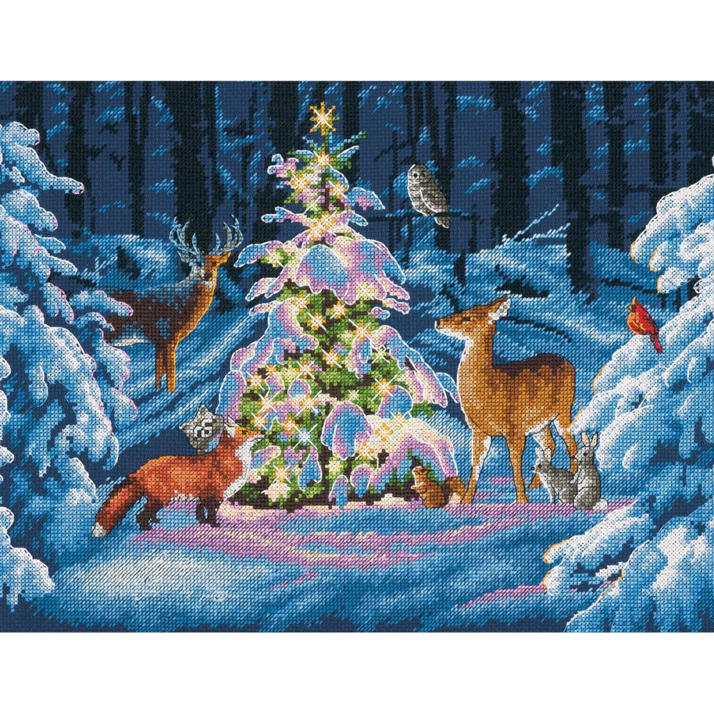 Woodland Glow Counted Cross Stitch Kit