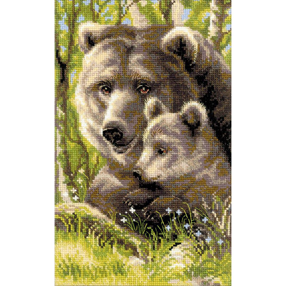 Bear With Cub (10 Count)