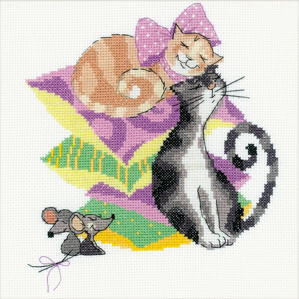 Cats And Mice (14 Count)
